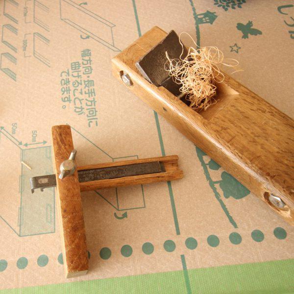 建具屋さんの道具