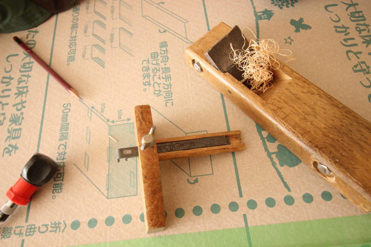 使い込まれた美しい道具たち