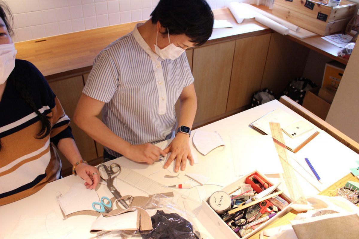 型を微調整して作成する坂内鏡子先生