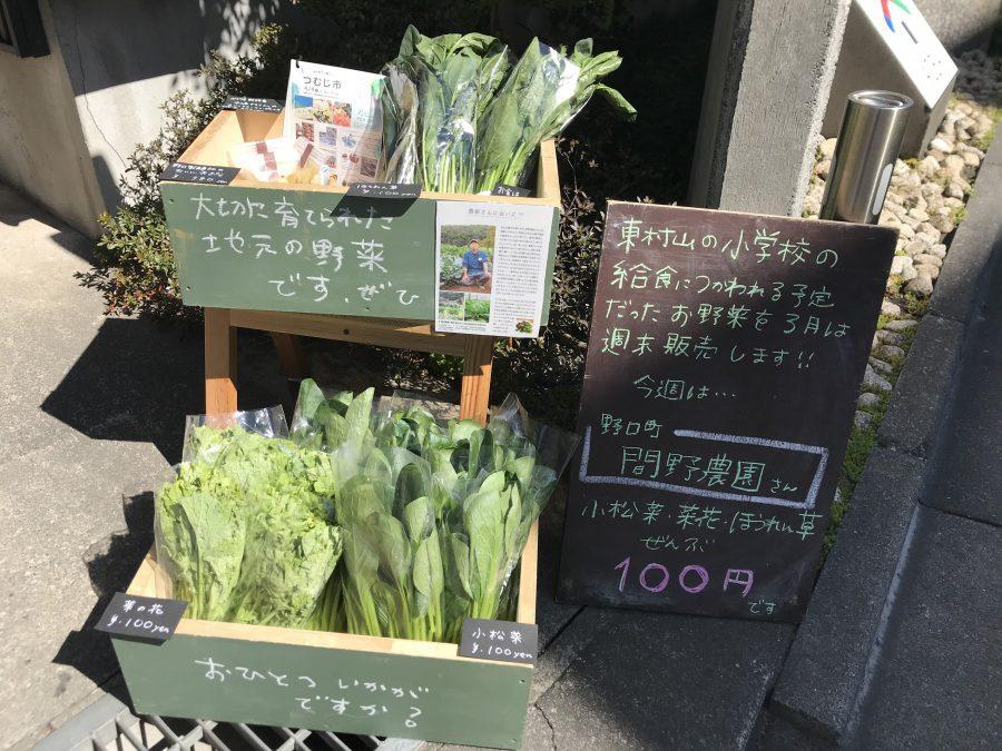 明日のお野菜は何かな・・・お楽しみに!