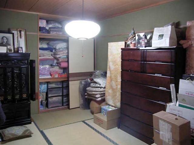 和室のあった場所を設計士さんオリジナルデザインのキッチンへ