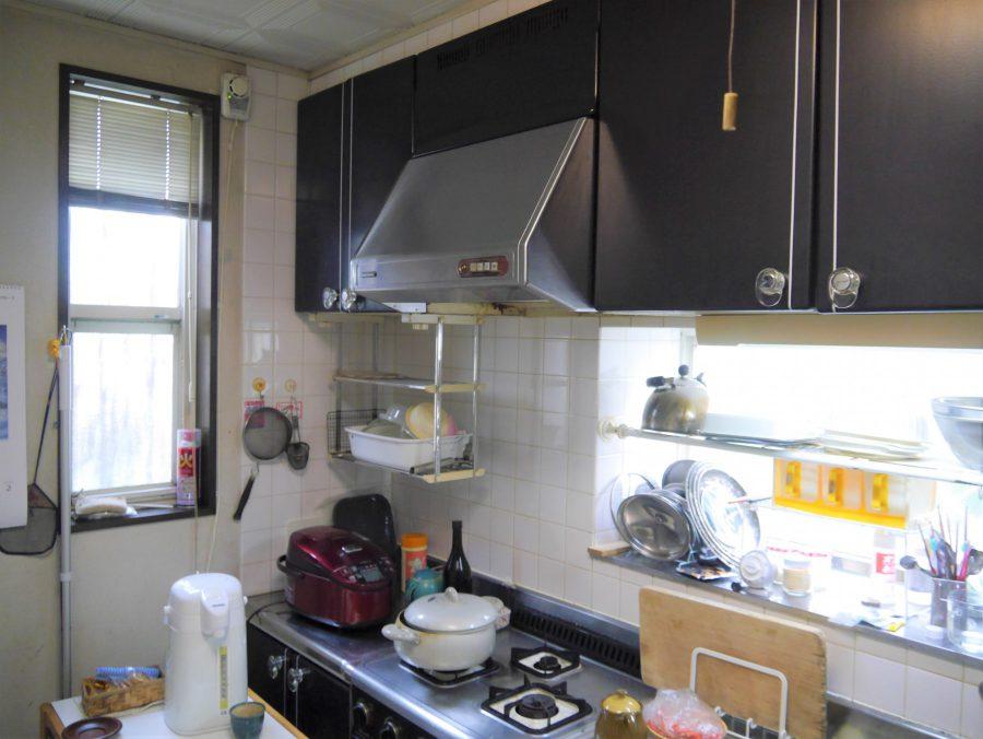 〈施工前〉キッチン