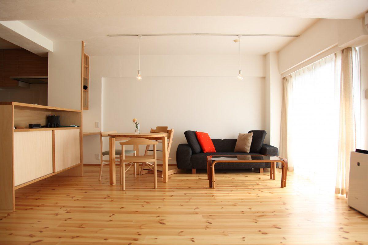 ワークスペースのあるマンションリフォーム