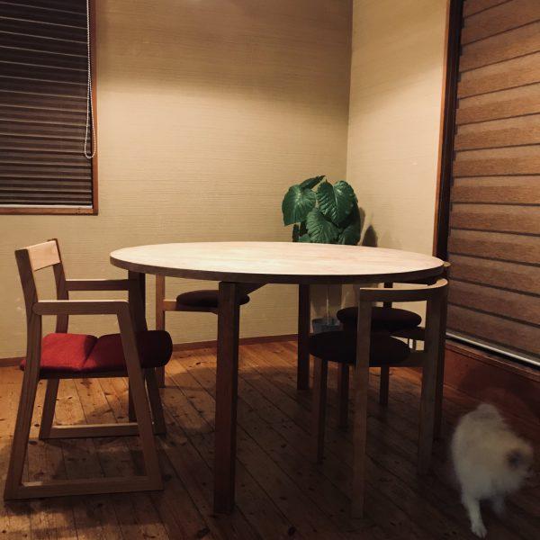 新しい椅子で家時間
