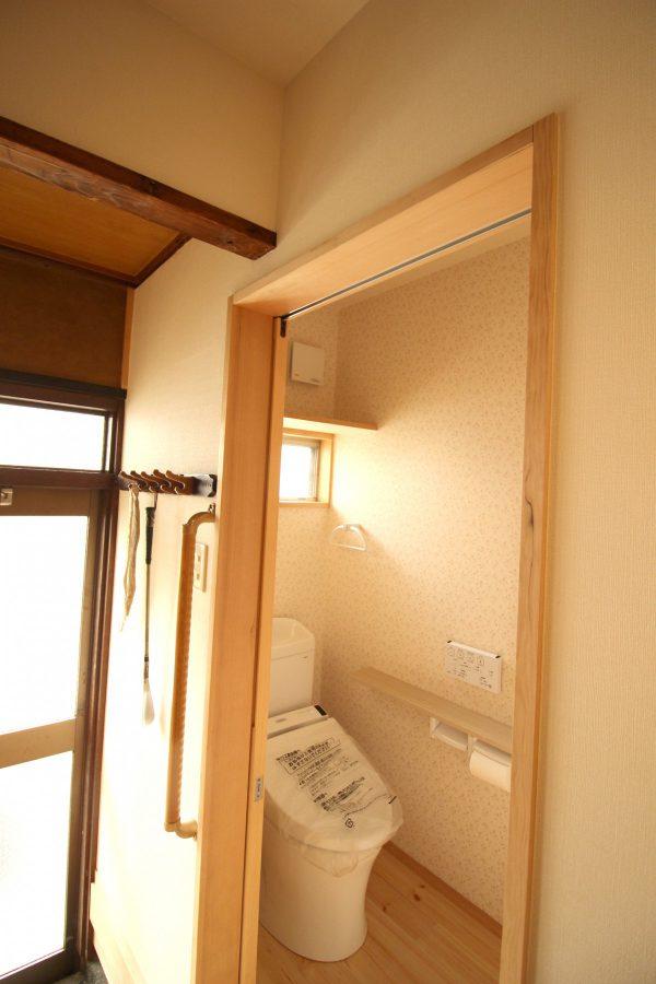 改修後のトイレ