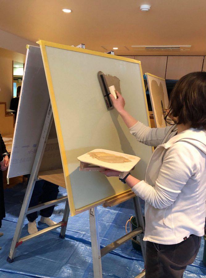 塗り終わった感じや、塗る過程も個性が出て面白いです。