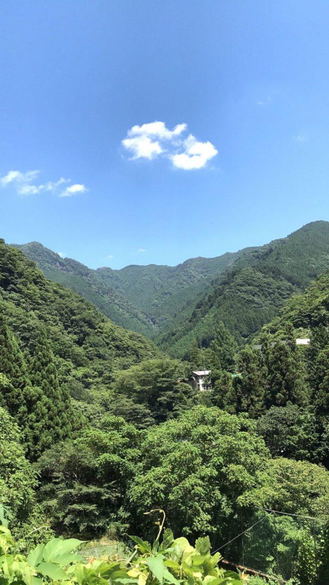 こんな自然の中で暮らしてみたいな。