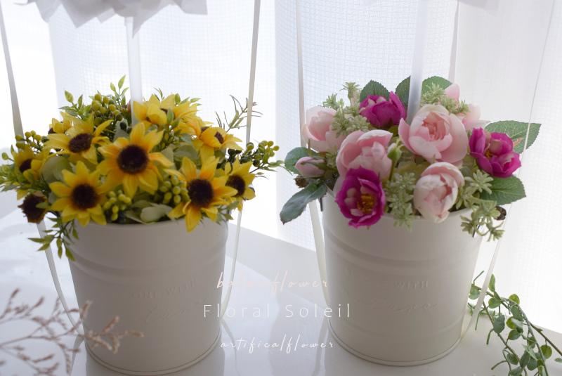 生花にさながらのアーティフィシャルフラワーです。