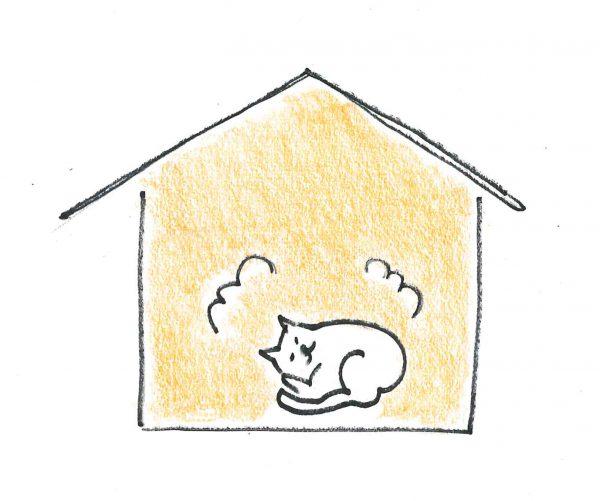 家の快適さについて考える