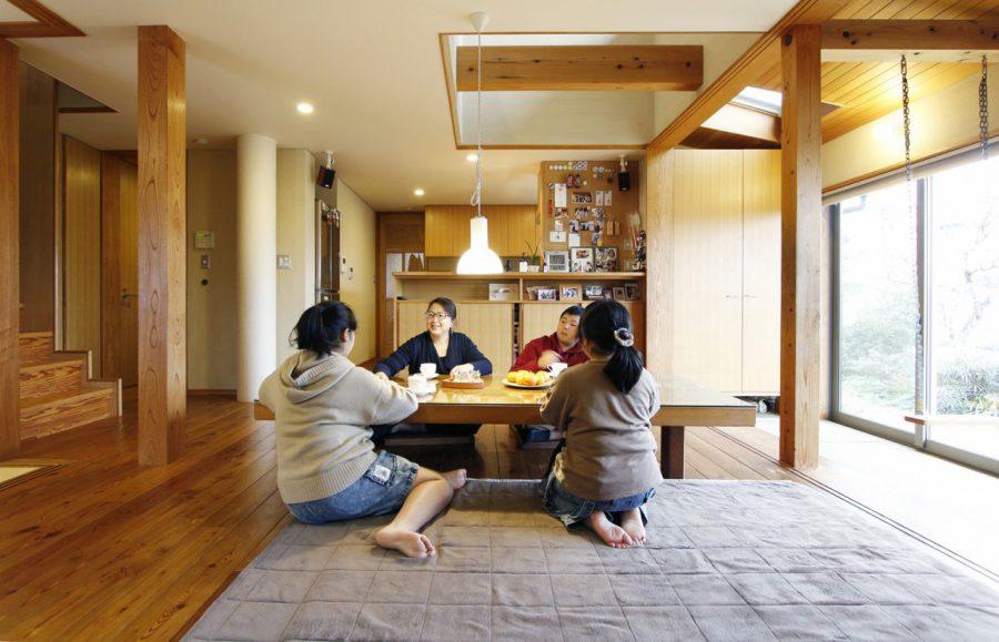 相羽建設で建てた家に住んでいます