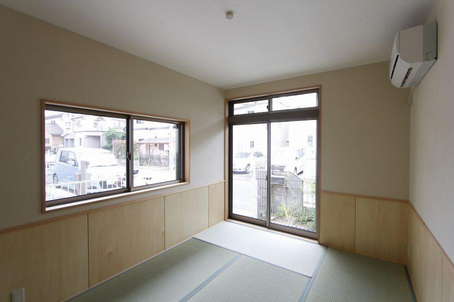 腰窓に変更して生まれ変わった和室