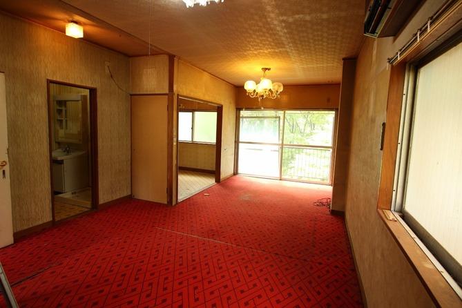 2階リビングbefore