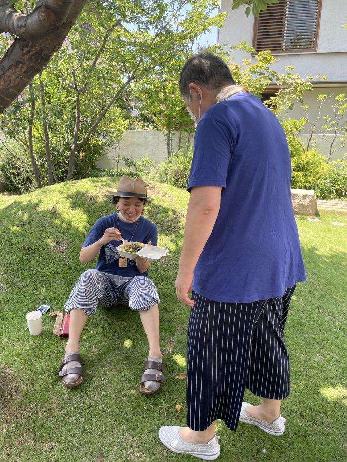 当日はとても暑かったのでへとへと…五味さんも朝からお疲れさまでした。