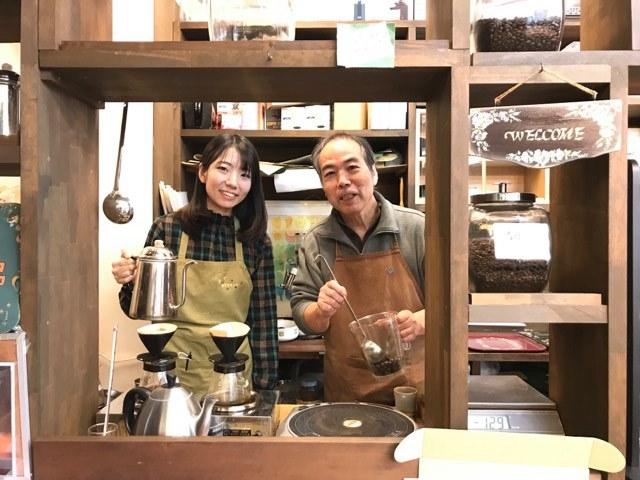 デナリコーヒー櫻井さんと娘さん